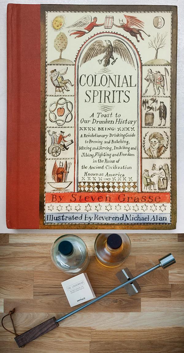 Giveaway: Colonial Spirits and Loggerhead Bar Tool // stirandstrain.com
