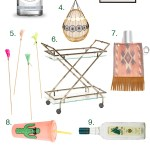 Festival Ready Bar Cart Styling