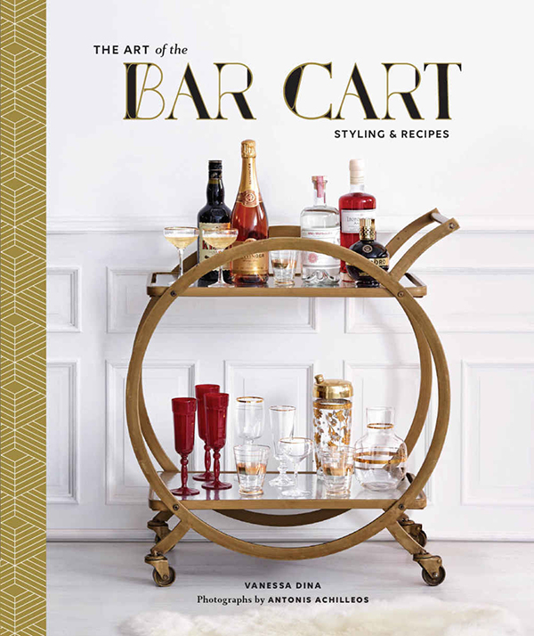 Giveaway: The Art of the Bar Cart and bar tools // stirandstrain.com