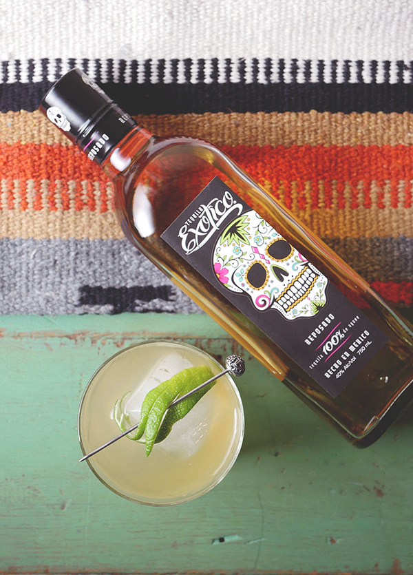 Holiday Elixr Cocktail with Exotico Tequila // stirandstrain.com