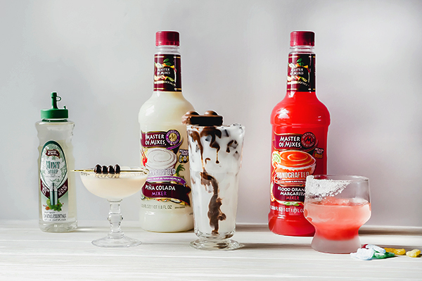 Candy Inspired Cocktails with Master of Mixes // stirandstrain.com