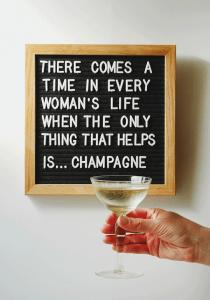 Monday Booze News: ring for champagne // stirandstrain.com