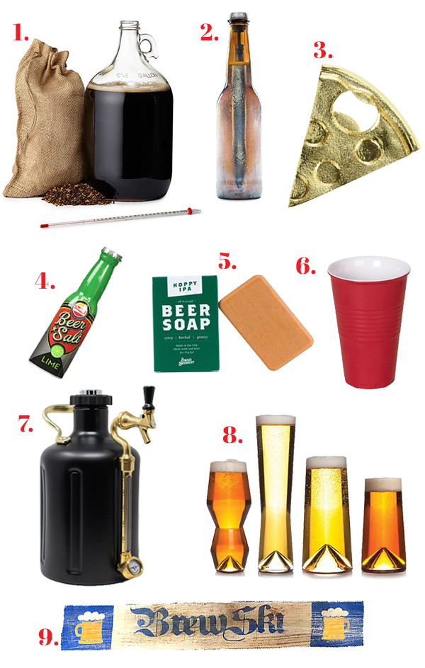 Holiday Gift Guide: Beer Me // stirandstrain.com