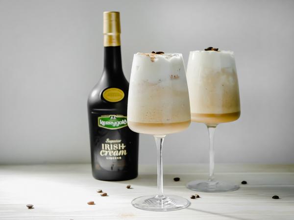 Kerrygold Frozen Irish Coffee // stirandstrain.com