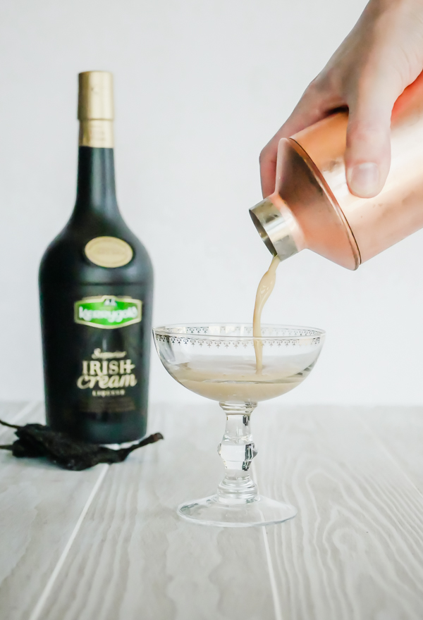 Kerrygold Chocolate Chile Cocktail // stirandstrain.com