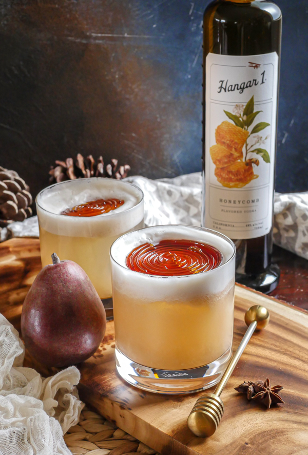 Hangar 1 Spiced Pear Sours // stirandstrain.com