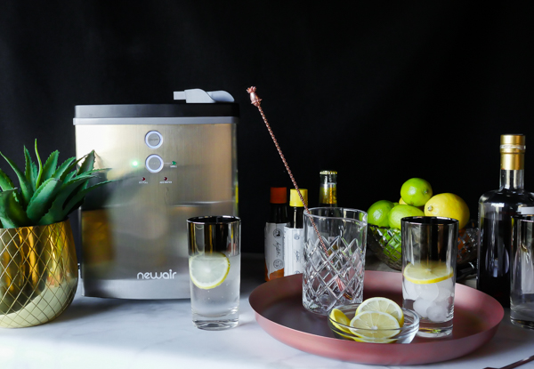 Newair Ice Maker // stirandstrain.com