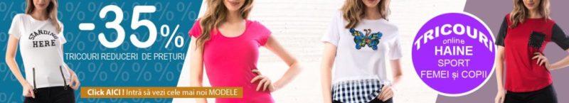 Tricouri Dama modele noi