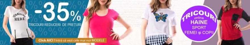 Tricouri pentru Femei din Bumbac de Vara