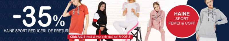 Magazin haine sport Femei si Copii
