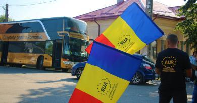 """Caravana """"Dreptate pentru România"""" a trecut și prin Buzău"""