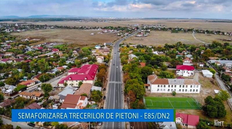 Proiect de semaforizare a trecerilor de pietoni de pe E85/DN2 (Drumul Morții)
