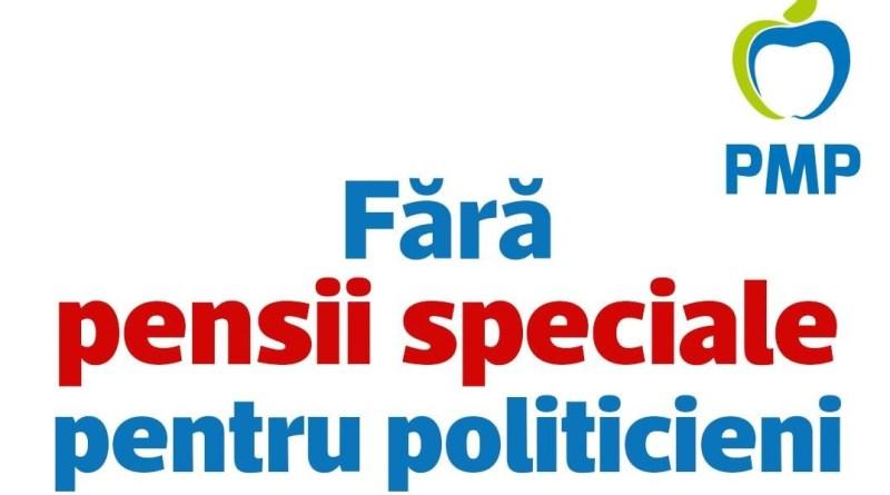 Adevărul despre eliminarea pensiilor speciale pentru politicieni