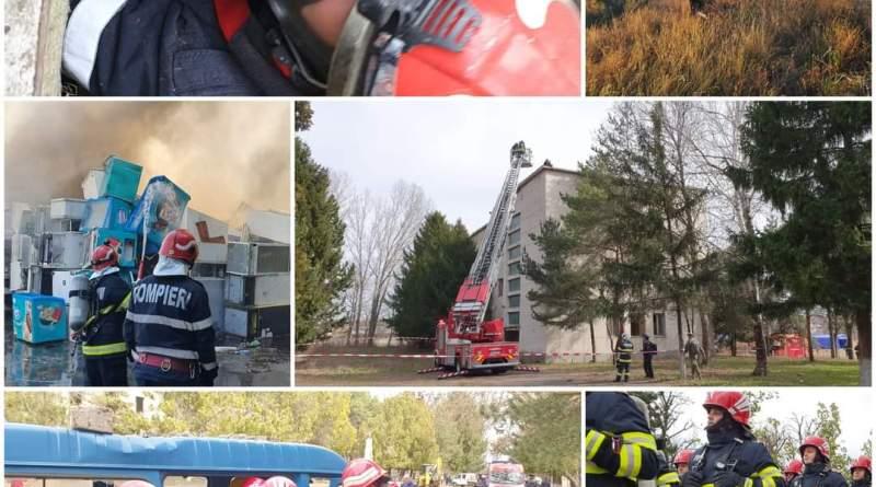 În anul 2020, pompierii buzoieni au intervenit la peste 9000 de situații de urgență. Vezi mai multe detalii