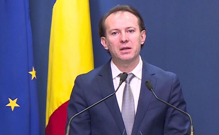 """Florin Cîțu anunță o creștere economică """"solidă"""" în 2021. """"O revenire a economiei în V"""""""