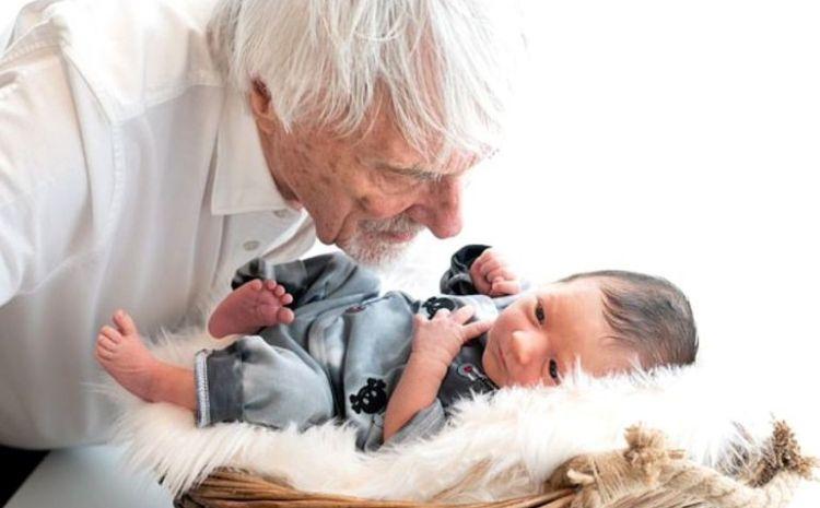 Bernie Ecclestone a devenit tata la 89 de ani! Declaratie fabuloasa a acestuia dupa ce i s-a nascut copilul
