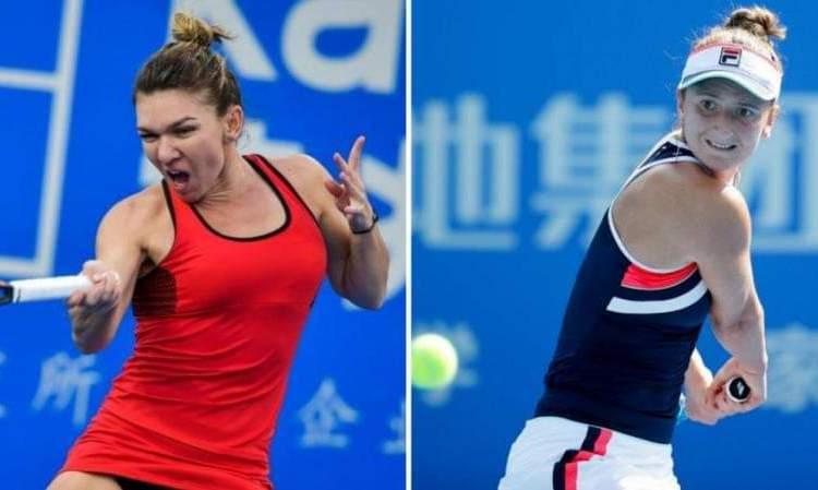 Simona Halep a eliminat-o pe Irina Begu şi s-a calificat în finala Turneului de la Praga