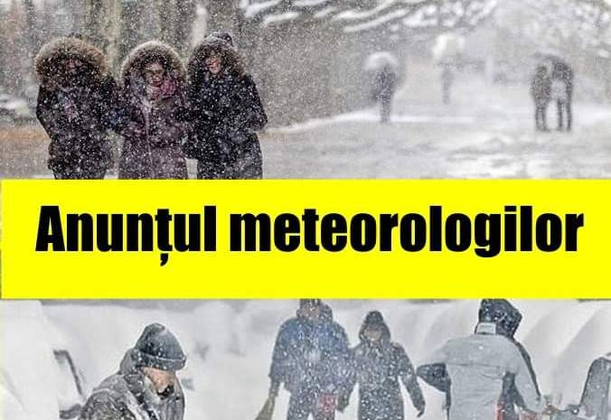 Prognoza meteo pentru luna noiembrie. Temperaturi din ce în ce mai scăzute