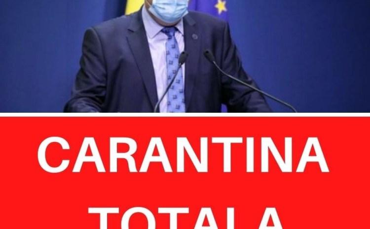 Carantină totală în România? Ce spune Raed Arafat