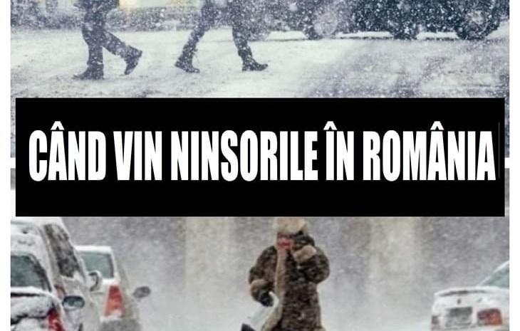 VIDEO| Ceață și zăpadă în România. Două săptămâni cu frig năprasnic