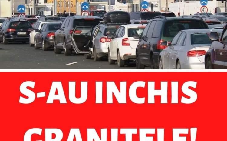 Se inchid granitele in Romania? Ce a anuntat guvernul condus de Ludovic Orban