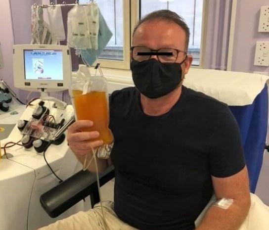 Povestea emoționantă a unui pacient infectat cu coronavirus. Și-a sunat familia să-și ia rămas bun