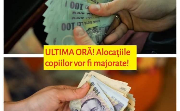 Violeta Alexandru: Alocaţiile vor creşte cu 20% la începutul anului. Vor creşte şi pensiile în 2021