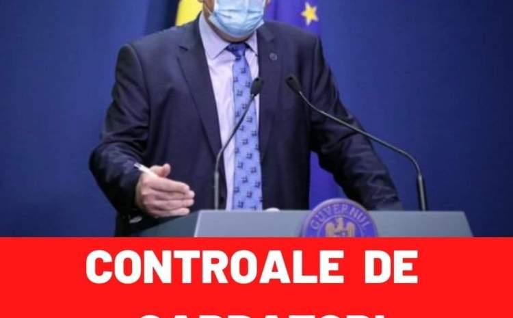 Romanii vor fi CONTROLATI! Anuntul lui Raed Arafat despre sarbatorile de iarna