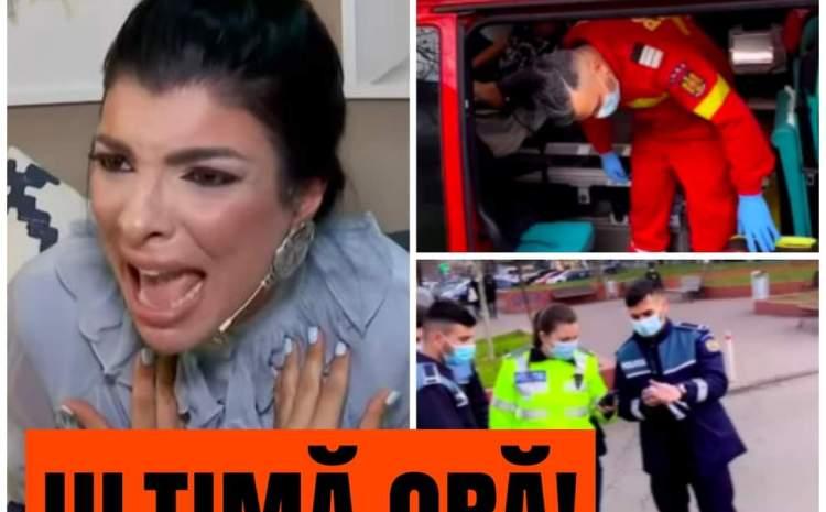 Andreea Tonciu și soțul ei, atacați cu cuțite în trafic! Bruneta a izbucnit în lacrimi VIDEO