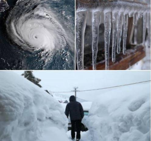 Vortexul polar aduce gerul năpraznic și viscolul peste România
