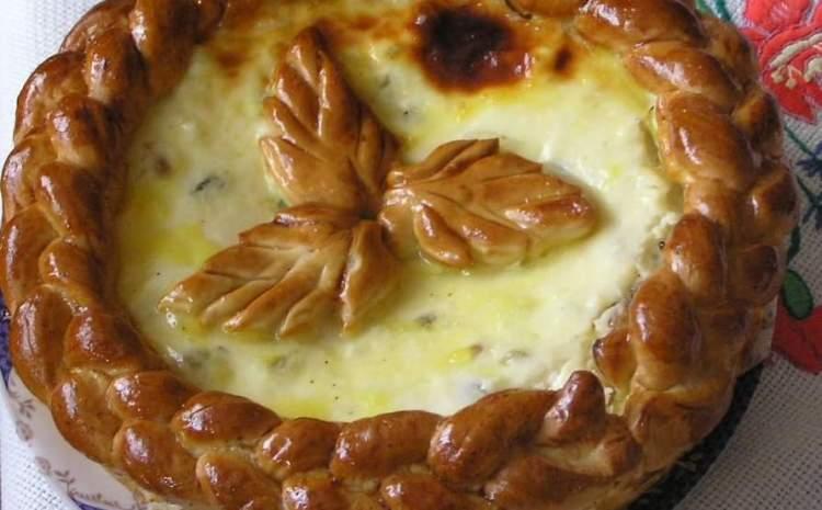 Rețetă pască tradițională cu brânză dulce