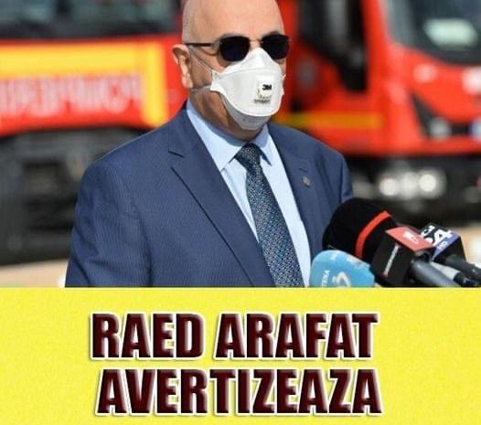 """Raed Arafat a găsit soluția pentru cei care nu vor să poarte mască în autobuz: """"Șoferul să refuze să plece din stație!"""""""