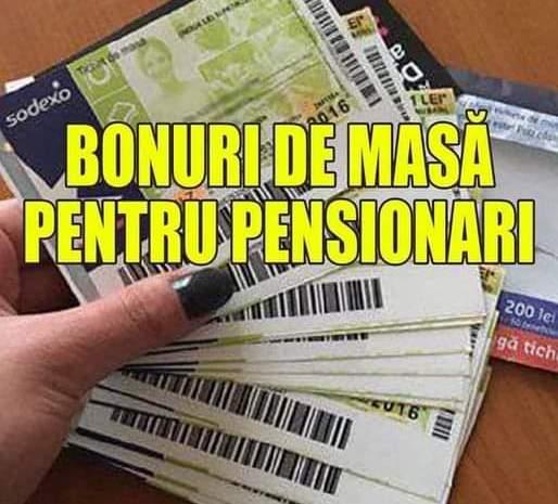 Peste 4.5 milioane de români vor primi bonuri de masă! Dacă ești pensionar primești tichete de masă de 15 lei pe zi! De cand se dau