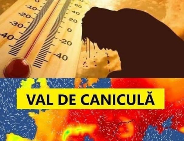Alertă ANM! Vreme la extreme în România: cod galben de căldură și furtuni