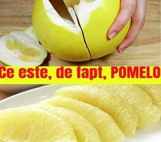8 motive pentru care ar trebui sa consumi Pomelo.