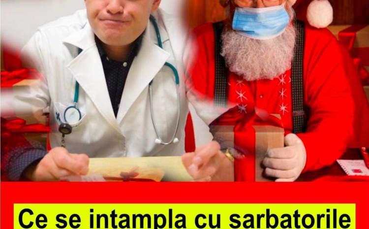 S-A AFLAT! Medicul Marinescu Adrian a dat vestea. Ce se intampla de sarbatorile de iarna