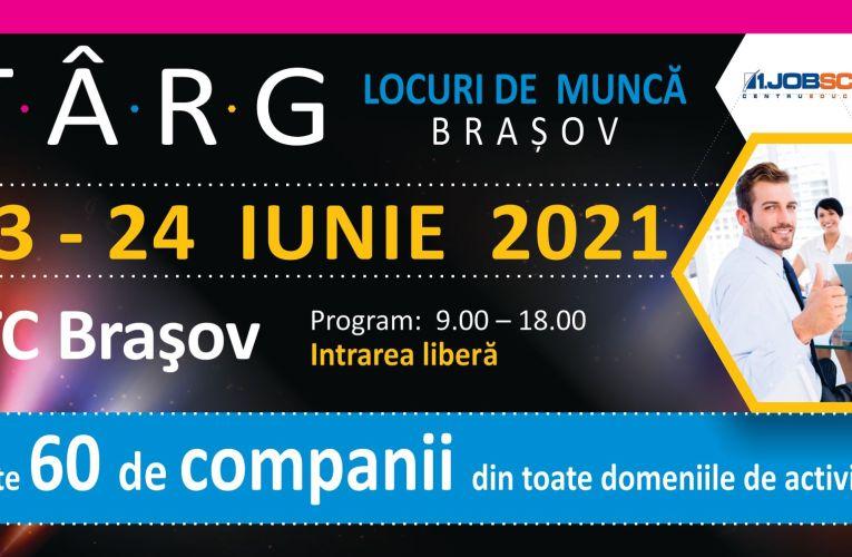 A început cel mai mare târg de locuri de muncă la Brașov!