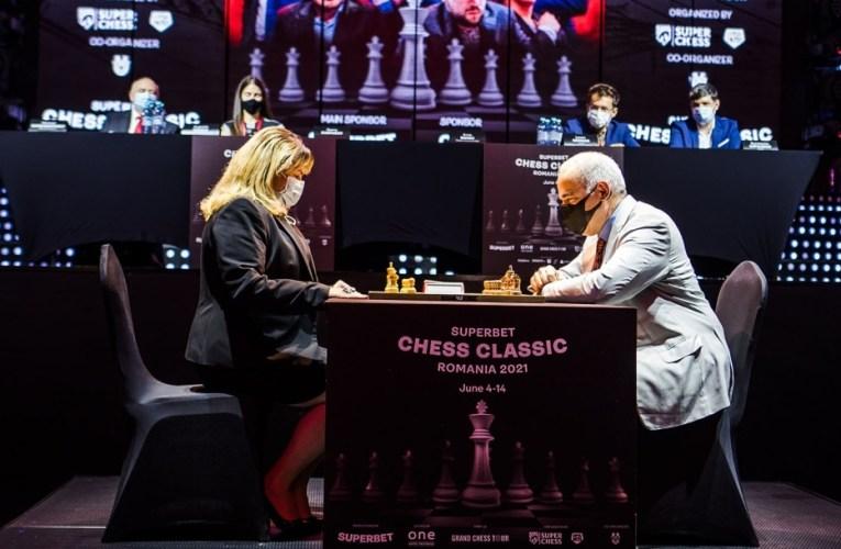 A început competiția de șah Superbet Chess Classic Romania 2021, prima etapă a Grand Chess Tour 2021
