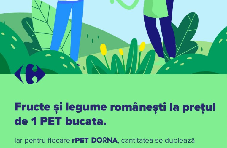 Carrefour România relansează Plata cu PET în Brașov și alte 19 orașe
