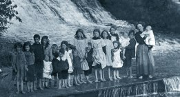 The Falls at Bannockburn Date unknown, courtesy of A Bain