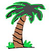 palm tree100
