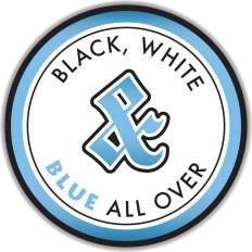 BlackWhite&Blue
