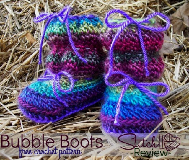 Bubble Boots Free Crochet Pattern Review Stitch11