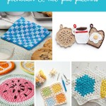 23 Free And Simple Crochet Potholder And Hot Pad Patterns Stitch11