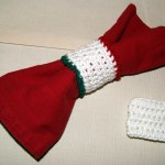 Simple Crochet Napkin Ring Stitch4ever