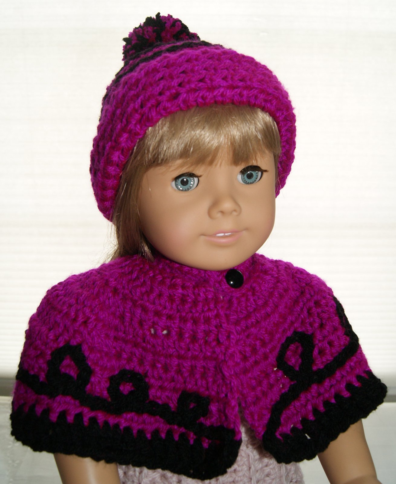 Crochet Outfit For 18″ Doll