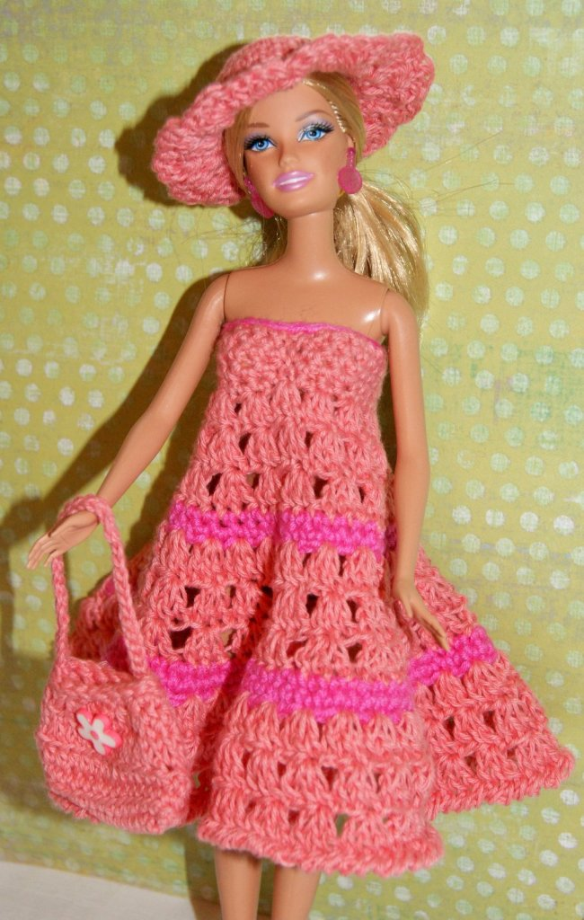 Barbie Crochet Dress Pattern Stitch4ever
