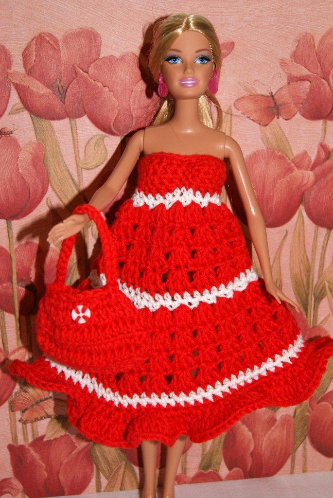Barbie Crochet Dress Pattern Stitch4ever