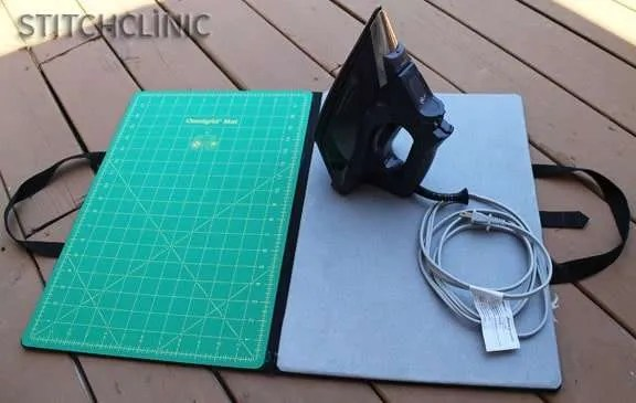Ironing board and cutting mat useful Omnigrid product