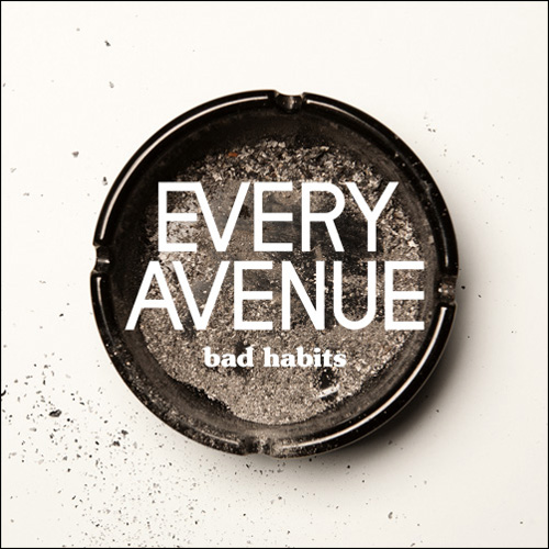 EVERY AVENUE 'BAD HABITS' COVER ART